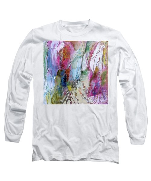 Under The Ice Of Venus Long Sleeve T-Shirt