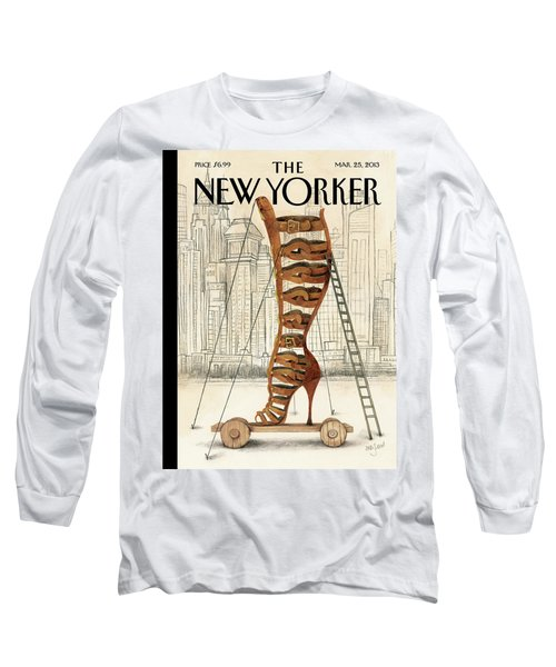 New Yorker March 25th, 2013 Long Sleeve T-Shirt