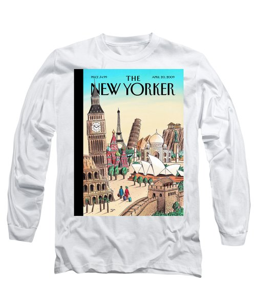 New Yorker April 20th, 2009 Long Sleeve T-Shirt