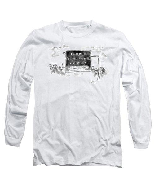 New Yorker September 26th, 2016 Long Sleeve T-Shirt