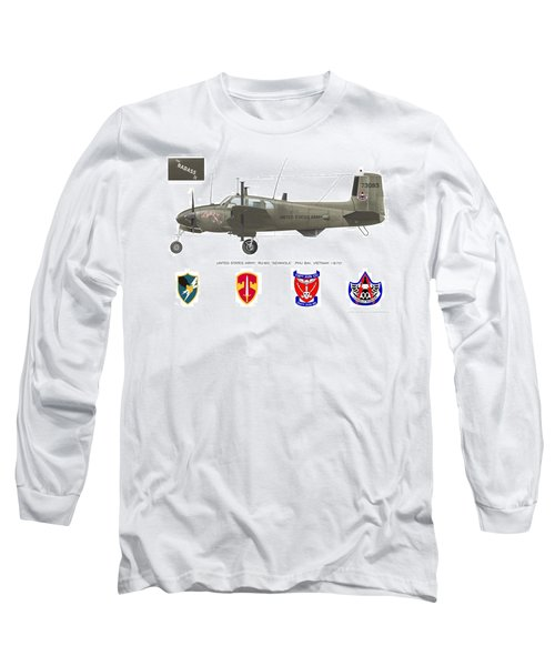 U.s. Army Ru-8d Card Or Mug Art Long Sleeve T-Shirt