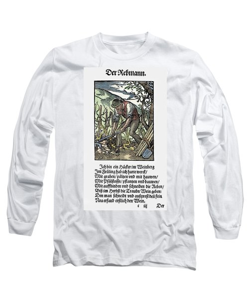 Vinegrower, 1568 Long Sleeve T-Shirt by Granger