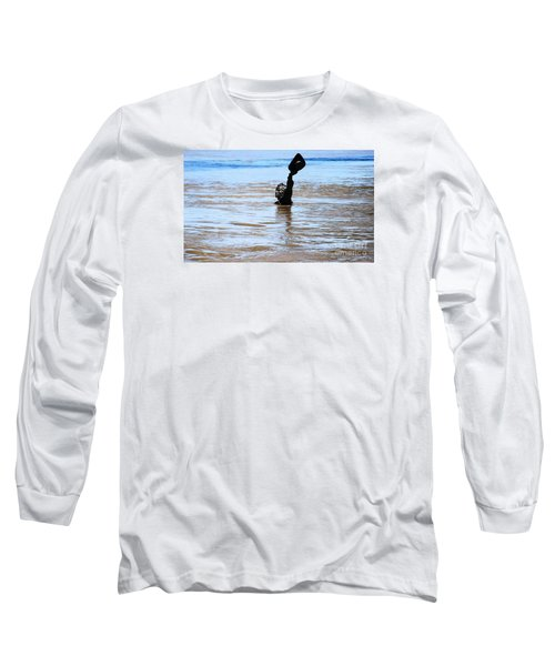 Waters Up Long Sleeve T-Shirt by Kelly Awad