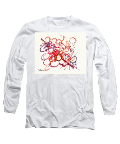 2012 Drawing #22 Long Sleeve T-Shirt