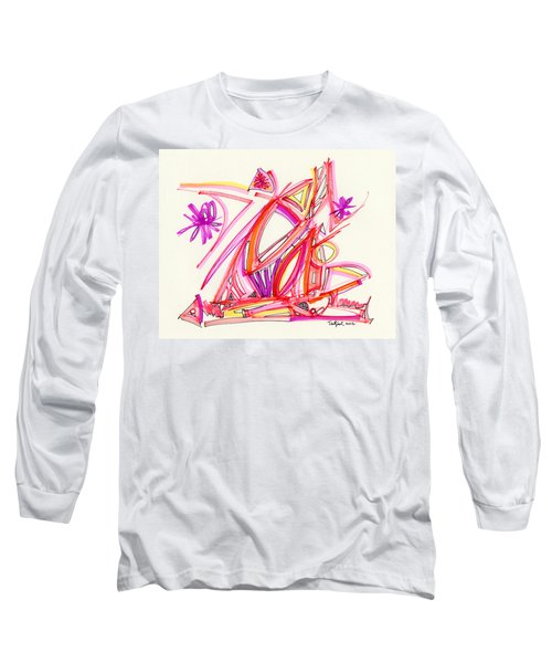 2012 Drawing #30 Long Sleeve T-Shirt