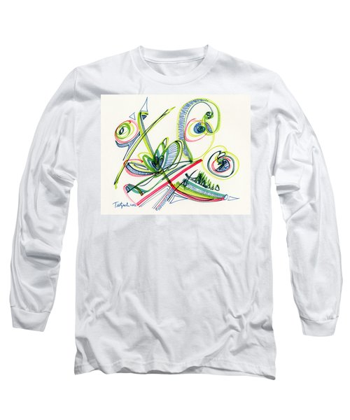 2012 Drawing #36 Long Sleeve T-Shirt