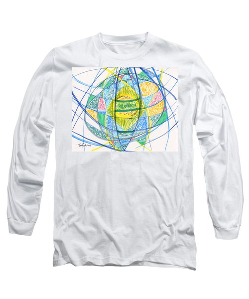 2013 Abstract Drawing #2 Long Sleeve T-Shirt by Lynne Taetzsch