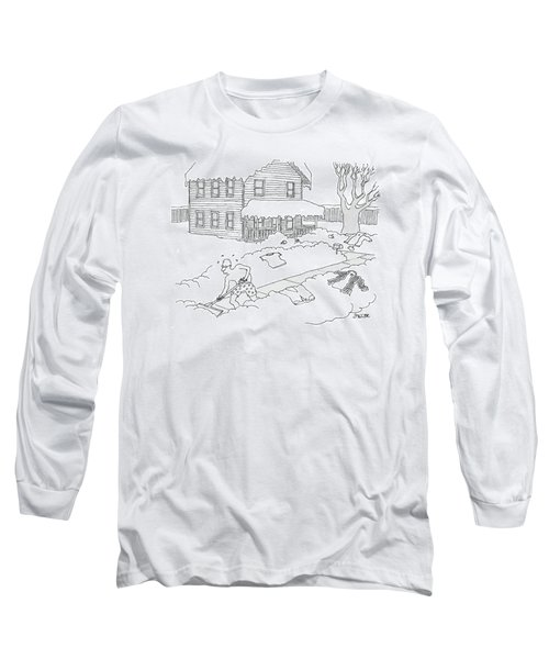New Yorker March 6th, 2006 Long Sleeve T-Shirt