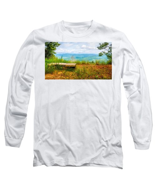 Scenery Around Lake Jocasse Gorge Long Sleeve T-Shirt