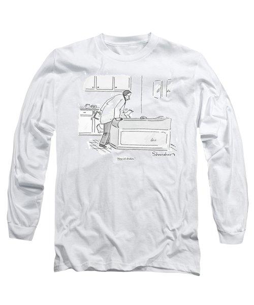 Now It's Broken Long Sleeve T-Shirt