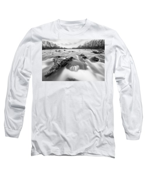 Long Sleeve T-Shirt featuring the photograph 25. December by Davorin Mance