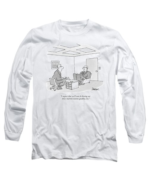 I Suspect That We'll Soon Be Kissing Long Sleeve T-Shirt