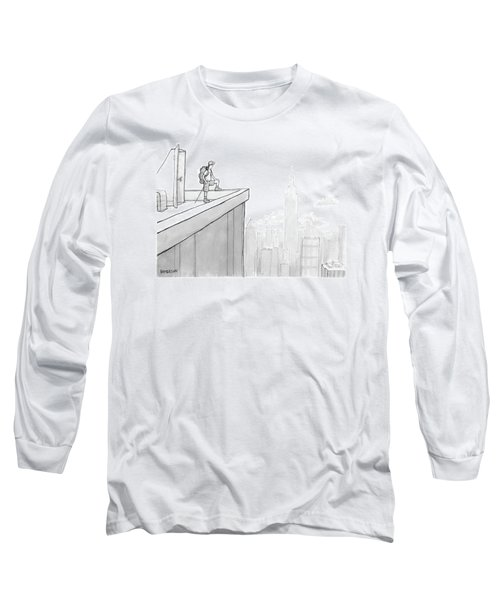 New Yorker August 1st, 2005 Long Sleeve T-Shirt