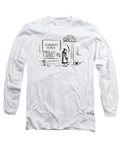 New Yorker January 8th, 2007 Long Sleeve T-Shirt