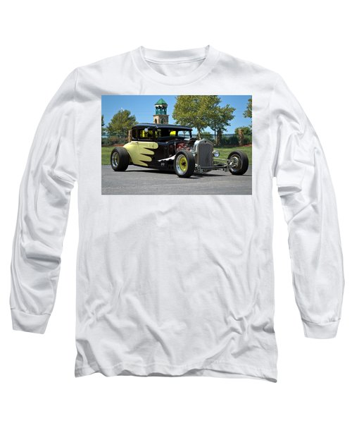 1930 Ford Coupe Hot Rod Long Sleeve T-Shirt by Tim McCullough
