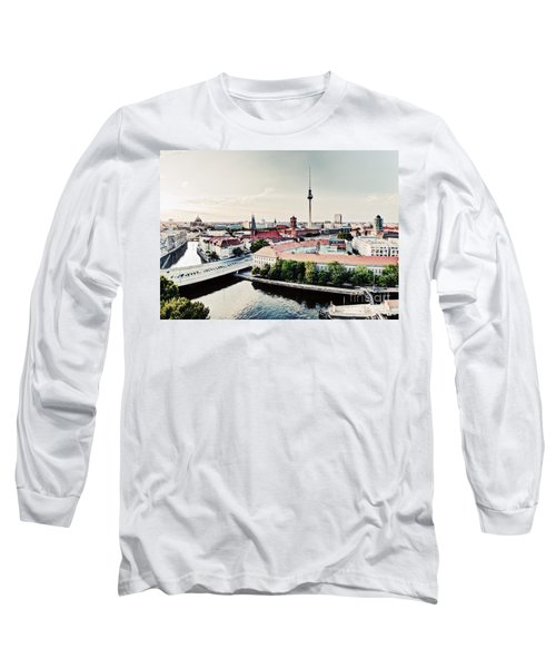 Berlin Germany View On Major Landmarks Long Sleeve T-Shirt