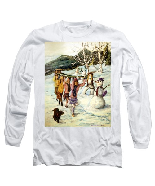 Frosty Frolic Long Sleeve T-Shirt