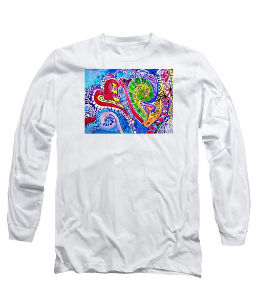 Love Is In The Air Long Sleeve T-Shirt by Sandra Lira