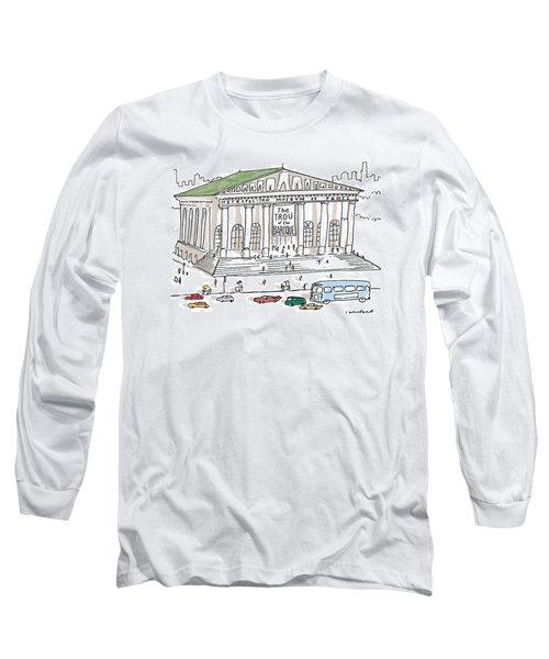 New Yorker December 7th, 1998 Long Sleeve T-Shirt
