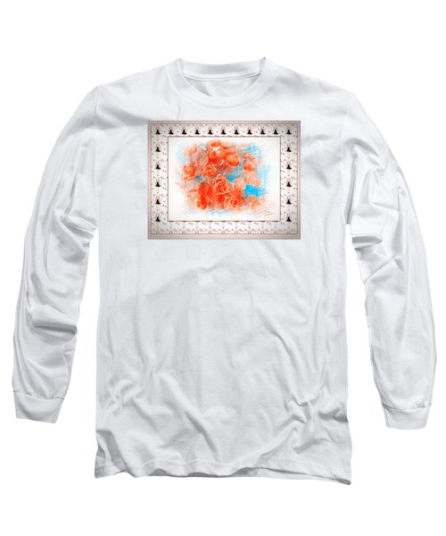 The Orange Roses Long Sleeve T-Shirt