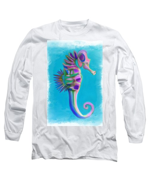 The Pretty Seahorse Long Sleeve T-Shirt