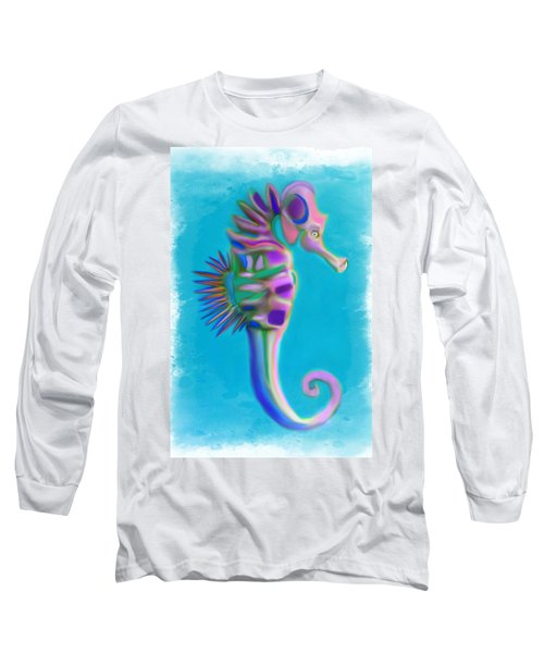 The Pretty Seahorse Long Sleeve T-Shirt