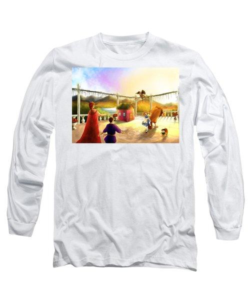 The Palace Balcony Long Sleeve T-Shirt