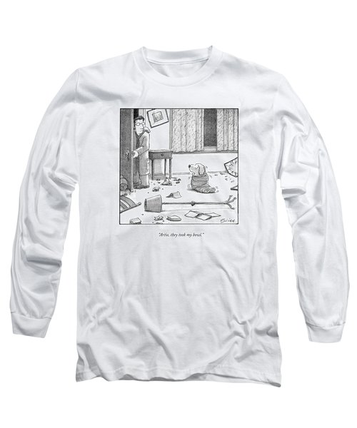 Artie, They Took My Bowl Long Sleeve T-Shirt