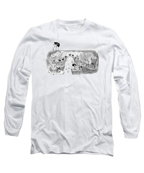 New Yorker October 31st, 2016 Long Sleeve T-Shirt