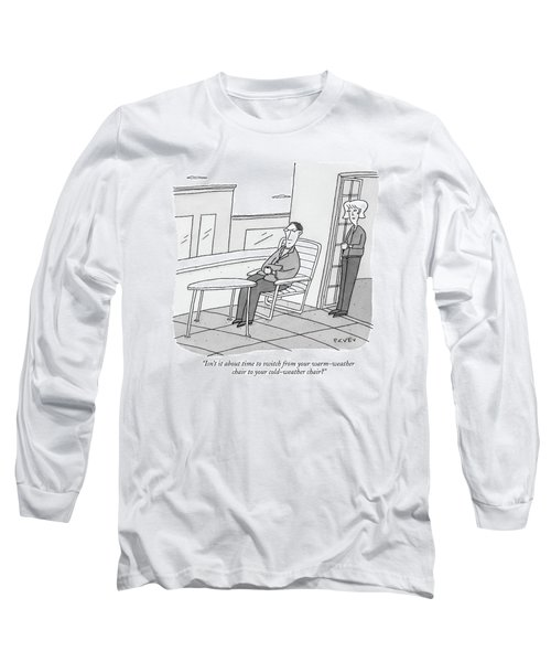 Isn't It About Time To Switch Long Sleeve T-Shirt