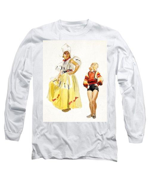 Swiss Miss Long Sleeve T-Shirt