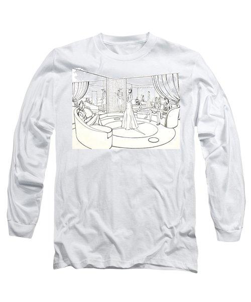 The Women Long Sleeve T-Shirt