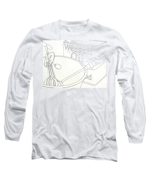 Wesson Oil Long Sleeve T-Shirt