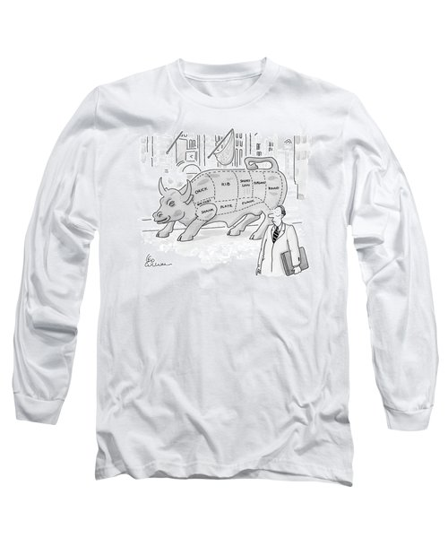 Wallstreet Bull Long Sleeve T-Shirt