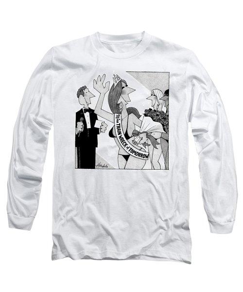 New Yorker April 14th, 2008 Long Sleeve T-Shirt