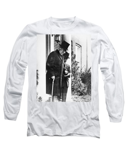 Woodrow Wilson (1856-1924) Long Sleeve T-Shirt by Granger