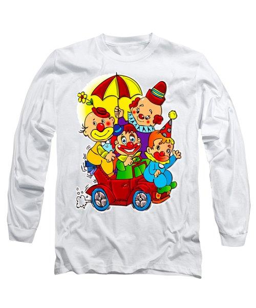 Clowns Series 01 Long Sleeve T-Shirt