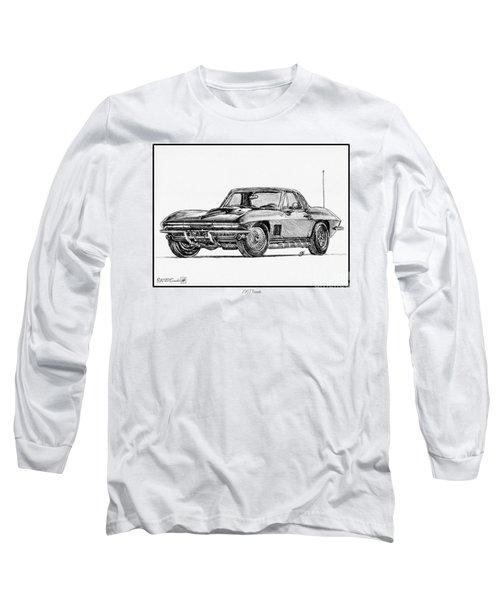 1967 Corvette Long Sleeve T-Shirt