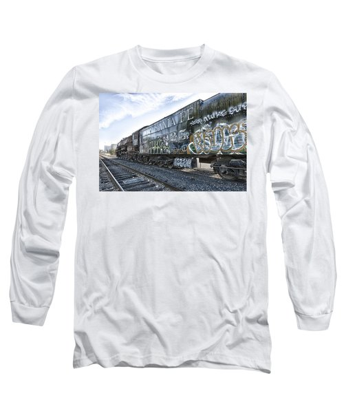 4 8 4 Atsf 2925 In Repose Long Sleeve T-Shirt by Jim Thompson