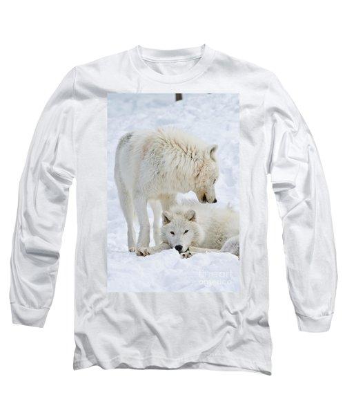 Arctic Wolves Long Sleeve T-Shirt
