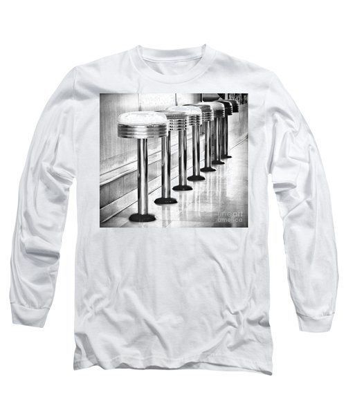 Have A Seat Long Sleeve T-Shirt by Peggy Hughes