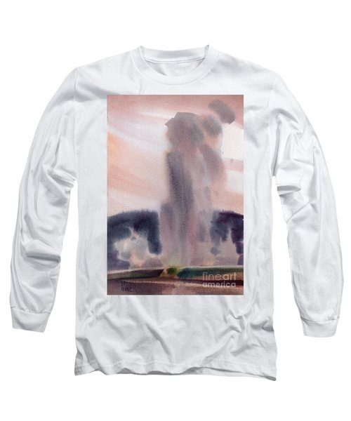 Old Faithful Long Sleeve T-Shirt by Donald Maier
