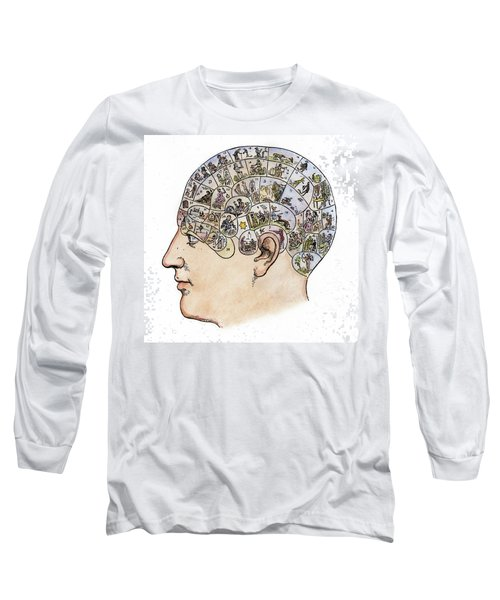 Phrenology, 19th Century Long Sleeve T-Shirt by Granger
