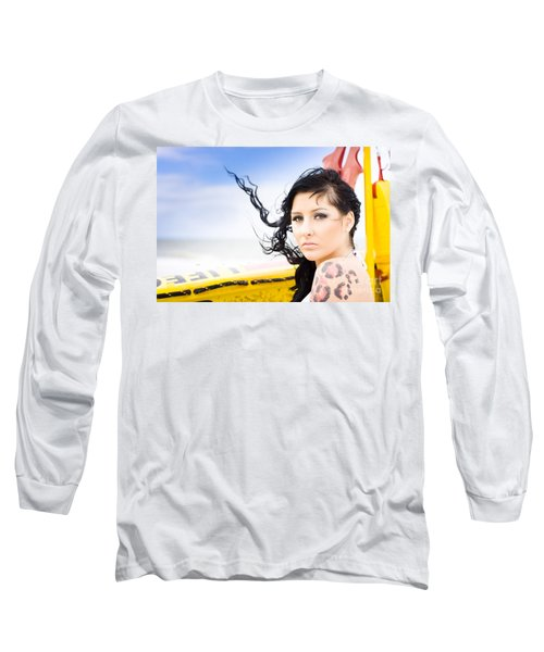 Surf Girl Long Sleeve T-Shirt