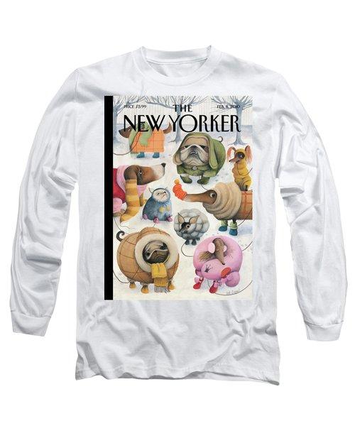New Yorker February 8th, 2010 Long Sleeve T-Shirt