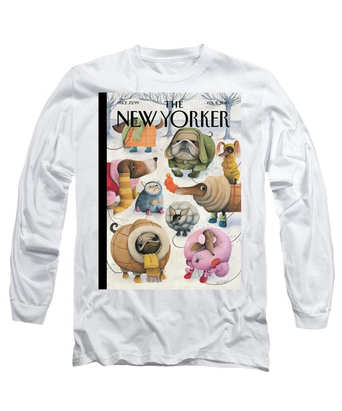 New Yorker February 8th, 2010 Long Sleeve T-Shirt