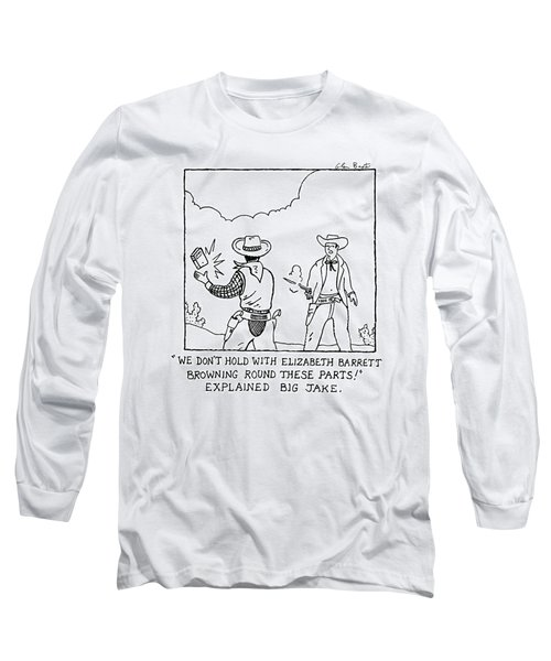 New Yorker June 11th, 2007 Long Sleeve T-Shirt