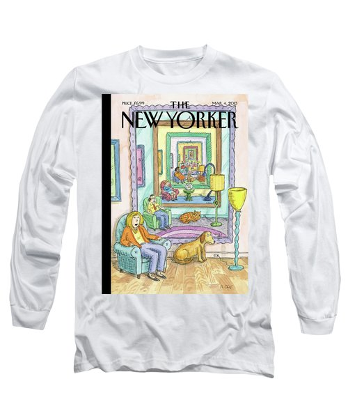 New Yorker March 4th, 2013 Long Sleeve T-Shirt