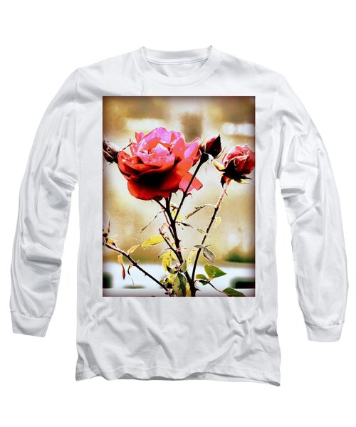 Long Sleeve T-Shirt featuring the photograph 40 Something by Faith Williams