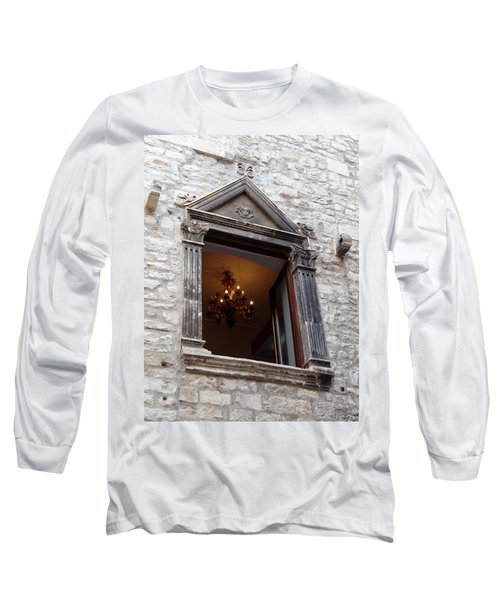 Views Of Split Croatia Long Sleeve T-Shirt by Richard Rosenshein
